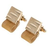 Gold Cuff Links